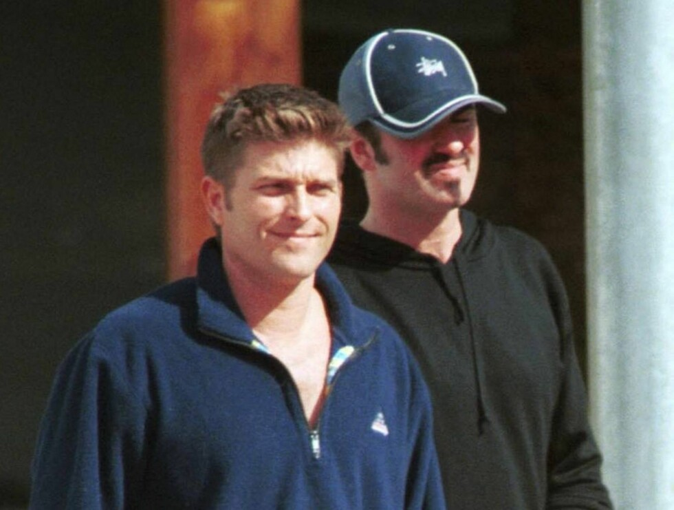 George Michael w/boyfriend in Beverly Hills Feb28 2000 X  All Over Press/X 17/ B Bild Foto: All Over Press