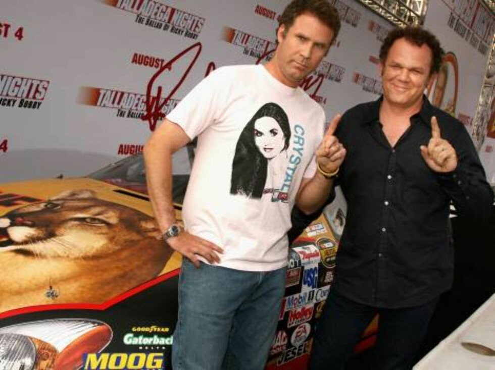 "<strong>LOS ANGELES, CA - JULY 26:</strong>  (L-R) Actors Will Ferrell and John C. Reilly arrive at the premiere of ""Talladega Nights: The Ballad of Ricky Bobby"" at Mann's Grauman Chinese Theater on July 26, 2006 in Hollywood, California.  (Photo by Kevin Winter/Getty Ima Foto: All Over Press"