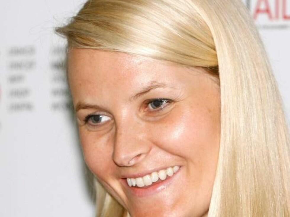 <strong>STOR JOBB:</strong> Mette-Marit er spesialmedarbeider for FN i AIDS-saken. Foto: All Over Press