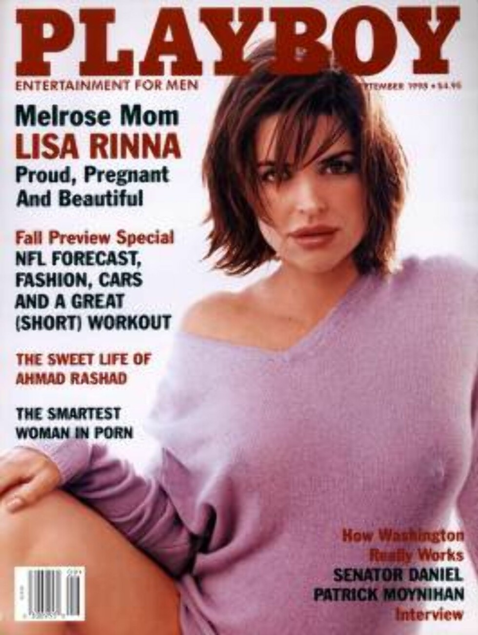 381154 08: Actress Lisa Rinna poses pregnant for Playboy magazine (September 1998 issue). (Photo courtesy of Playboy/Delivered by Online USA) / ALL OVER PRESS Foto: All Over Press