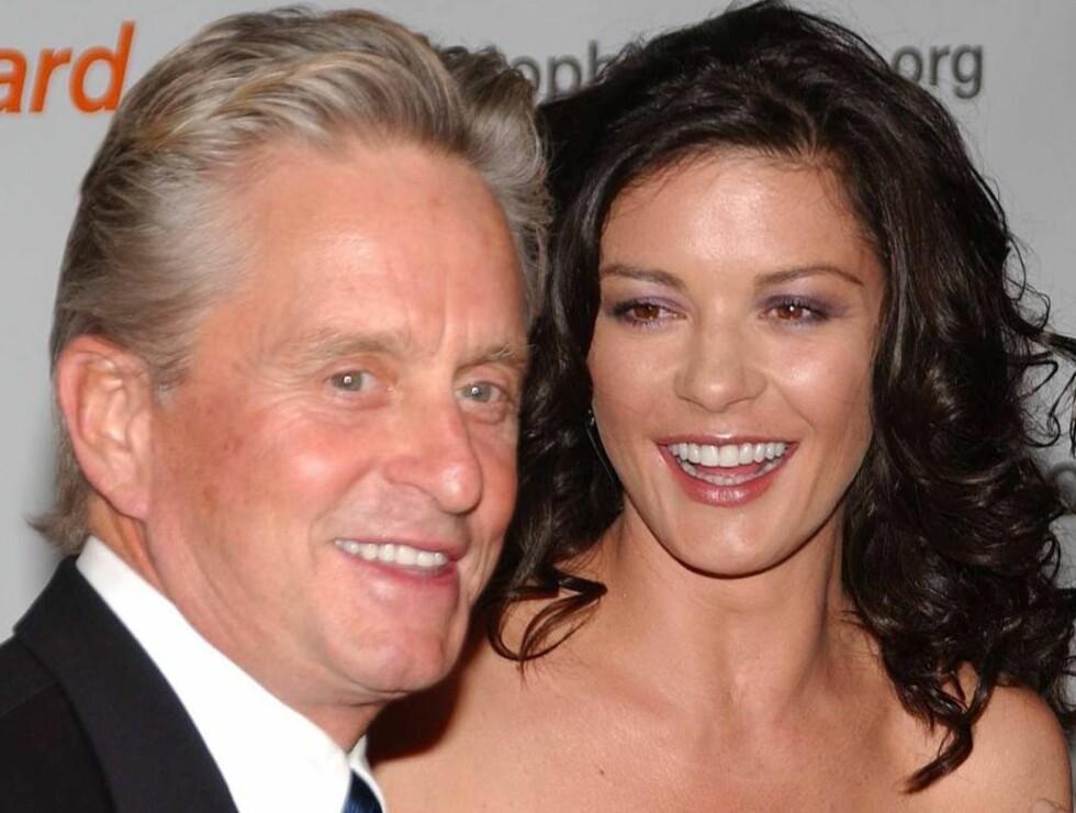ETTERTRAKTET: Det er 25 års aldersforskjell mellom Catherine og Michael. Foto: All Over Press/Getty