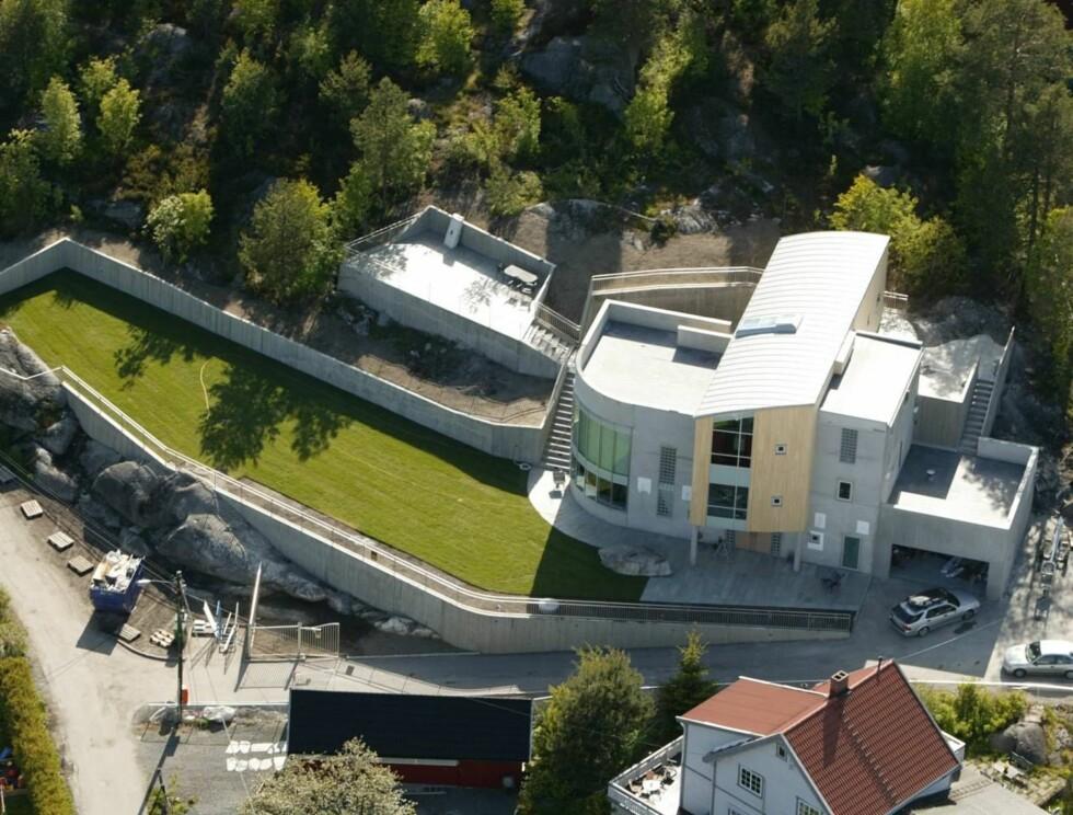 PRAKTVILLA: Murbygningen har vakt oppsikt langt utenfor Lørenskogs grenser. Foto: SE OG HØR
