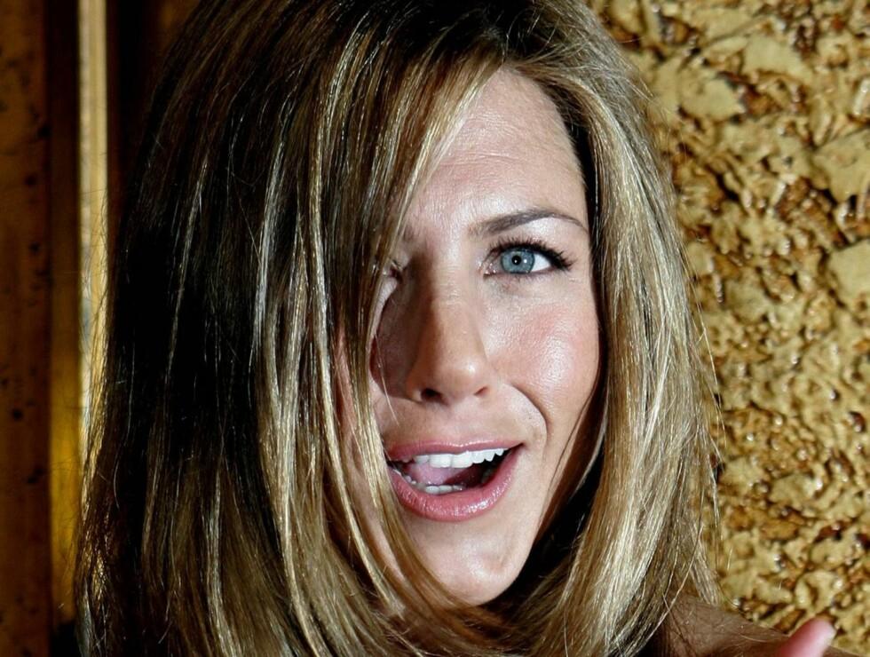 POPULÆR: Rollefiguren Rachel gjorde Jennifer Aniston til en A-kjendis. Nå åpner hun for et comeback. Foto: AP