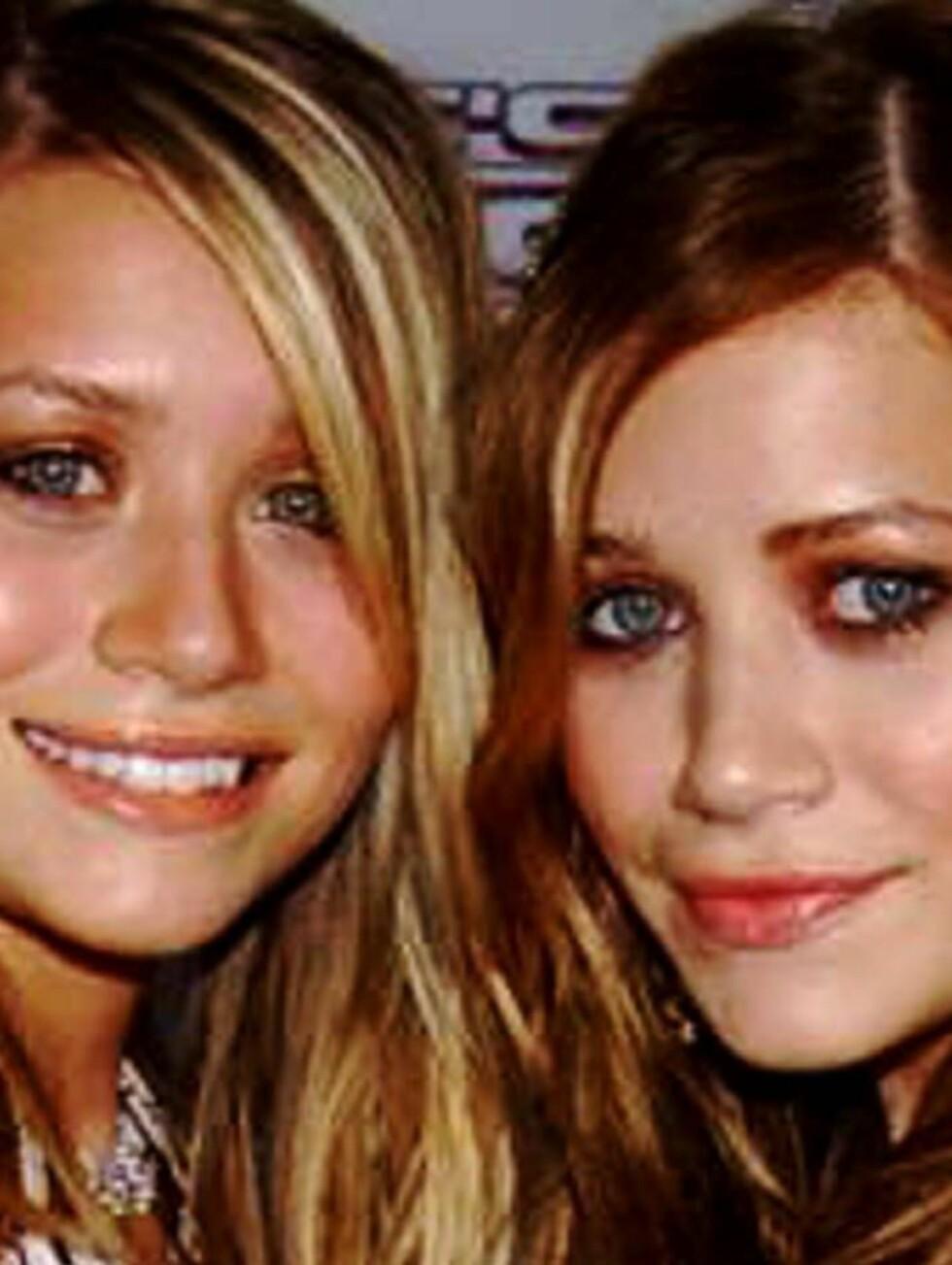 MARY-KATE OG ASHLEY OLSEN: Verdens rikeste tvillinger. Foto: All Over Press