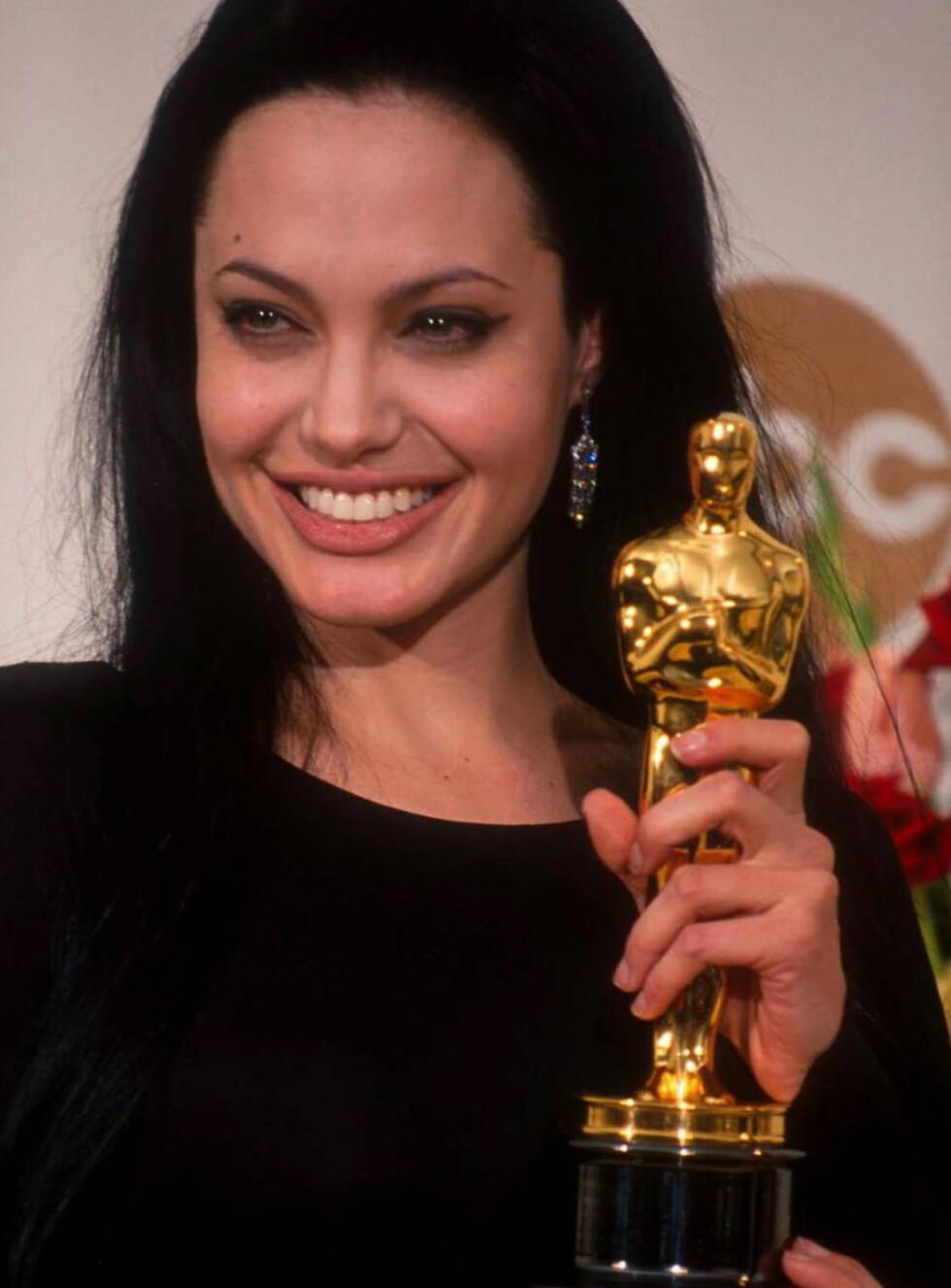 OSCAR: Angelina er en av de mestvinnende skuespilerinnene i Hollywood. Foto: All Over Press