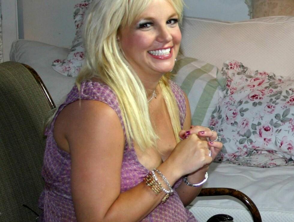 TYNGRE: To graviditeter på kort tid gjør noe med kroppen. Selv Britney Spears sin. Foto: AP/Scanpix