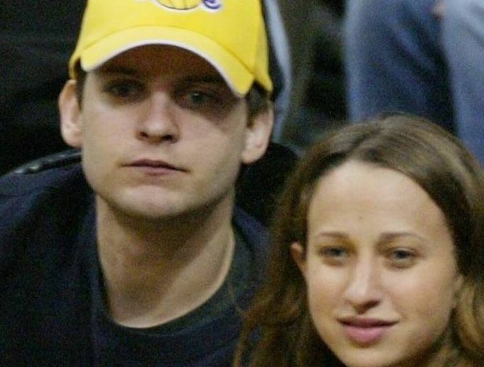 BLIR FORELDRE: Tobey Maguire og hans forlovede Jennifer Meyer venter barn. Foto: All Over Press