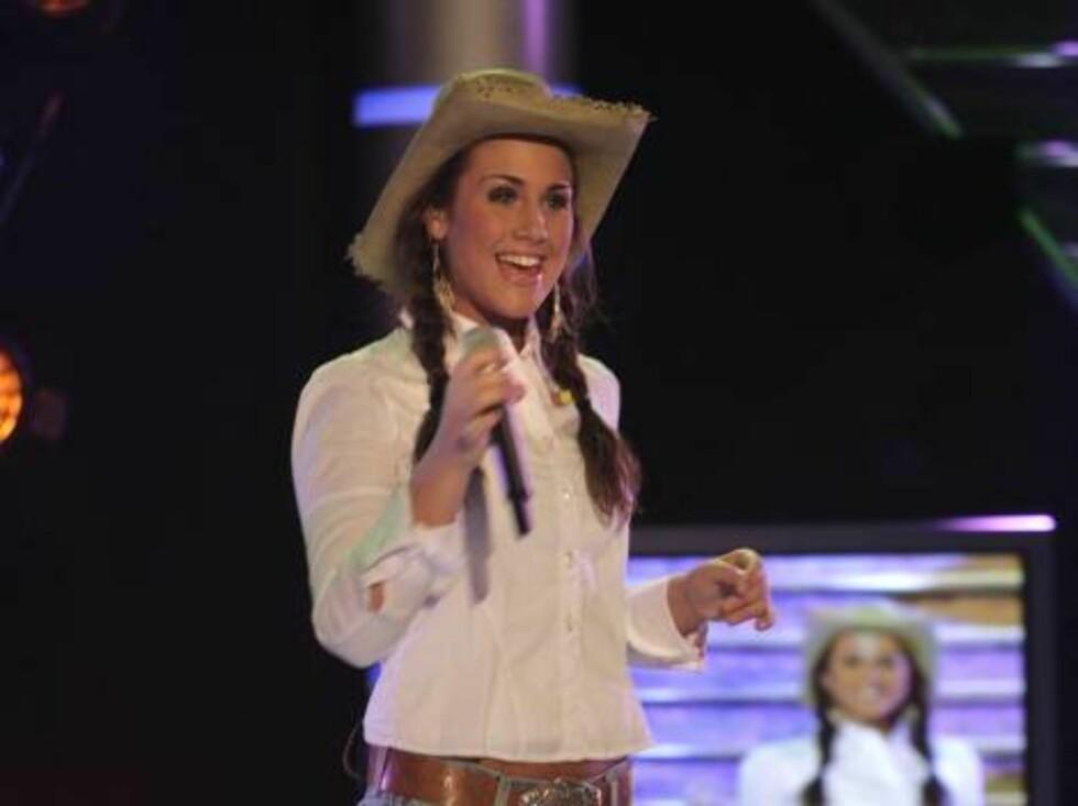 Idol 2005  - sjette finalerunde Tone Damli Aaberge Foto: Se og Hør