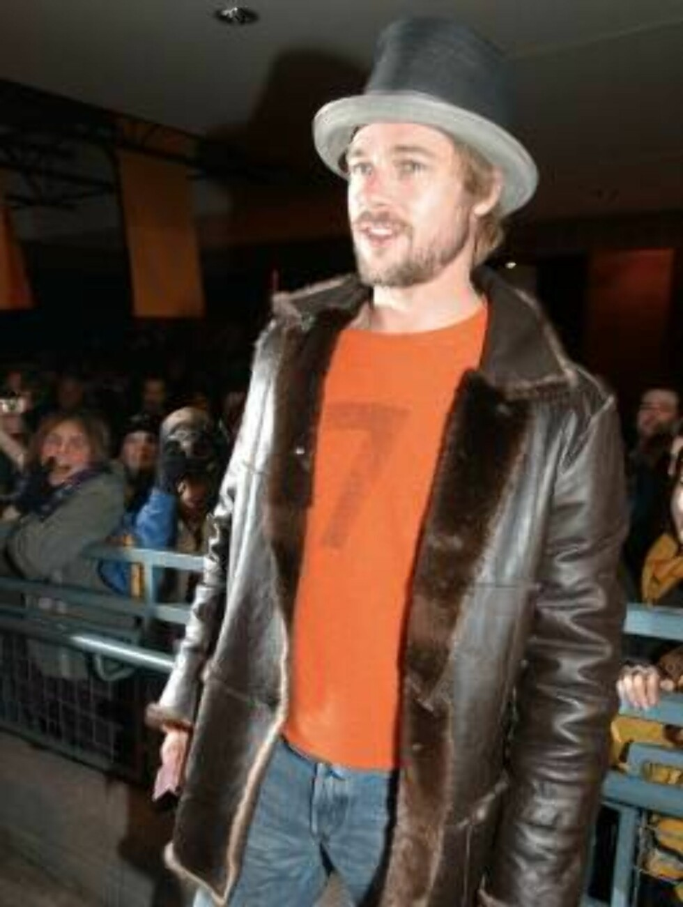 """399564 03:  Actor Brad Pitt attends the premiere of """"The Good Girl"""" January 12, 2002 at the Sundance Film Festival in Park City, UT. (Photo by Darren McCollester/Getty Images) ALL OVER PRESS Foto: All Over Press"""