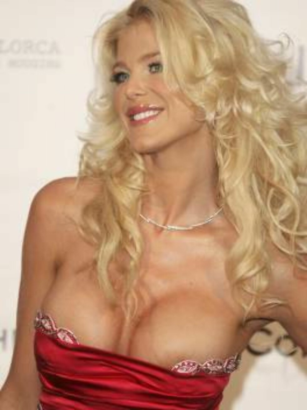 """CANNES, FRANCE - MAY 25:  Model and actress Victoria Silvstedt arrives at """"Cinema Against AIDS 2006"""", the annual event in aid of amfAR (American Foundation for AIDS Research) at Le Moulin de Mougins during the 59th International Cannes Film Festival May 2 Foto: All Over Press"""