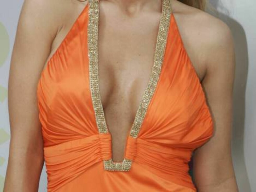 Actress Carmen Electra arrives at the MTV Awards at the American Airlines Arena Sunday Aug. 28, 2005 in Miami. (AP Photo/Jeff Christensen) Foto: AP/Scanpix