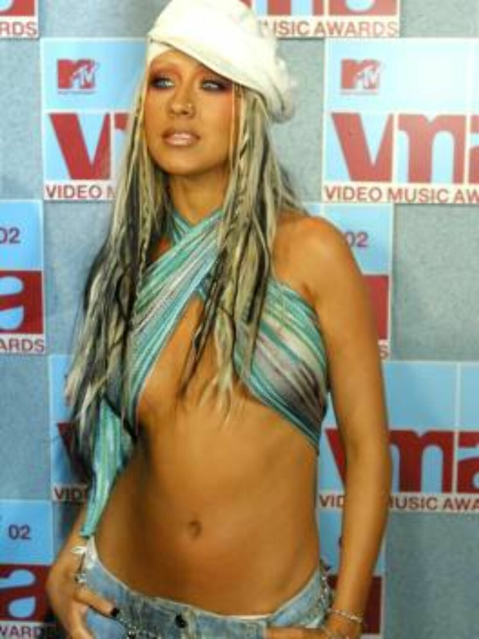 SVAR: Popsanger Christina Aguilera (25) synes ikke lenger hun har særlig hard konkurranse fra tidligere rival Britney Spears. Foto: AP/Scanpix