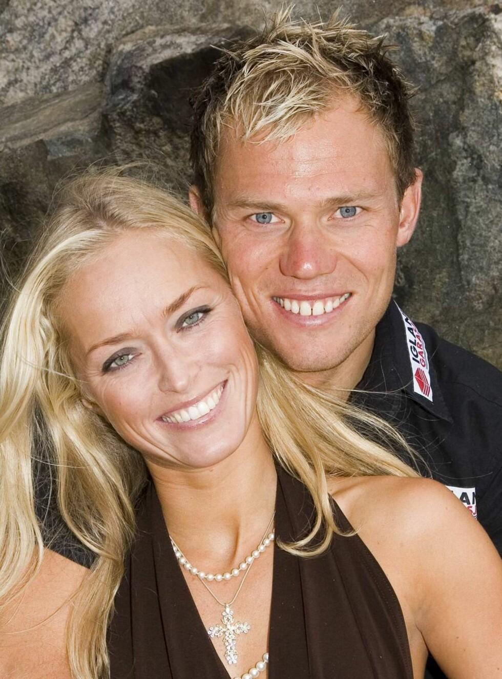 PÅ FLYTTEFOT: Thor Hushovd og kjæresten Susanne blir naboer med Schumacher i Sveits Foto: Tor Lindseth, Se og Hør