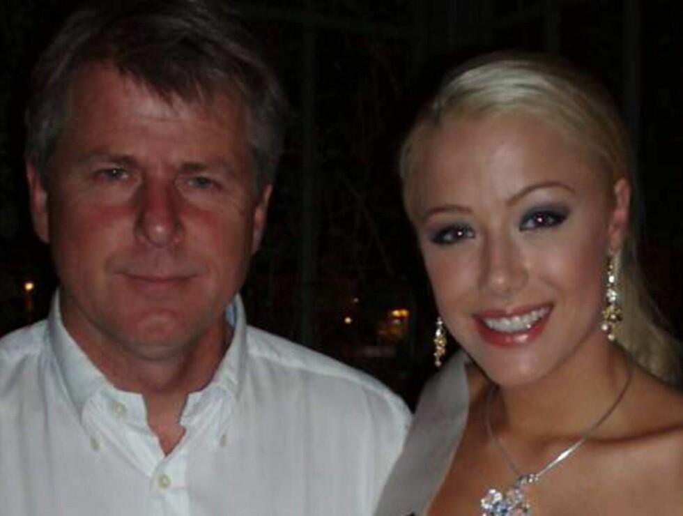 MED SJEFEN: Martine får god hjelp av den erfarne missegeneralen Geir Hamnes. Foto: Privat