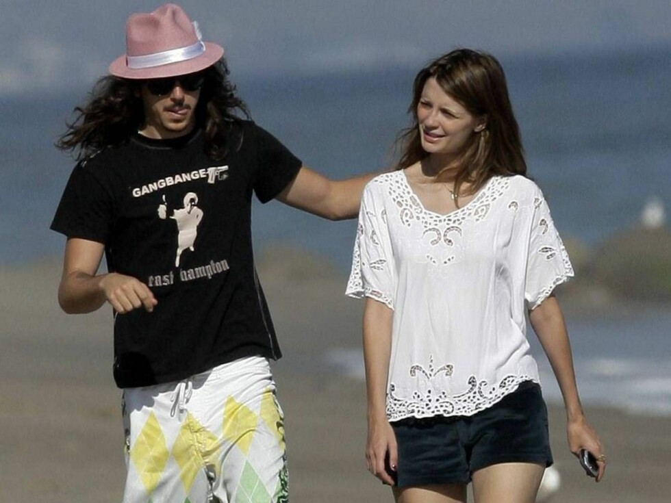 <strong>LYKKELIG FORELSKET:</strong> Privat er Mischa lykkelig forelsket i kjæresten Cisco Adler. Foto: All Over Press