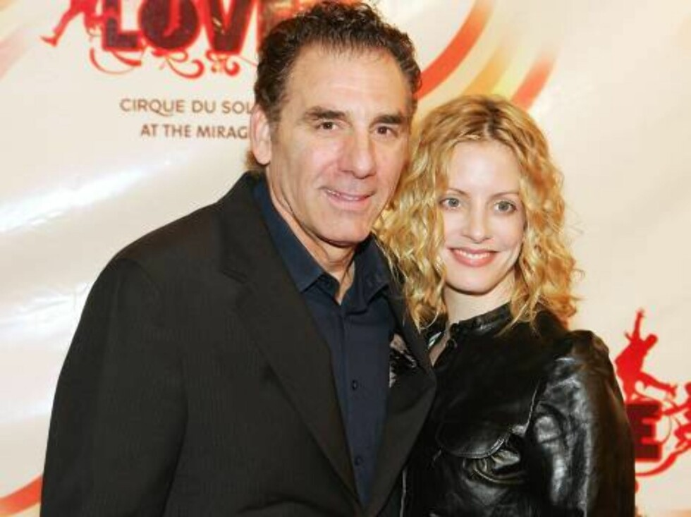 "LAS VEGAS - JUNE 30: Actor Michael Richards (L) and actress Beth Skipp arrive at the gala premiere of ""The Beatles LOVE by Cirque du Soleil"" at the Mirage Hotel & Casino June 30, 2006 in Las Vegas, Nevada. The show is a joint artistic venture between The Foto: All Over Press"