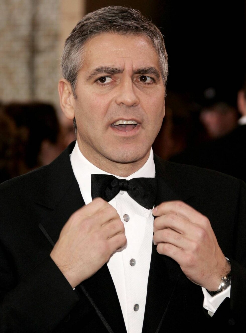 FAVORITT: George Clooney ble nominert til tre priser, og gleder seg til Oscar-festen! Foto: All Over Press