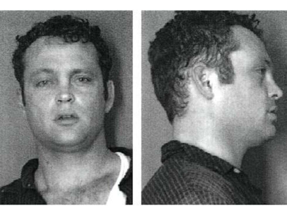 BARBRÅK: Vince Vaughn ble arrestert i Nord Carolina i 2001 etter et slagsmål utenfor en bar. Siktelsen ble frafalt seks måneder senere. Foto: Amerikansk politi