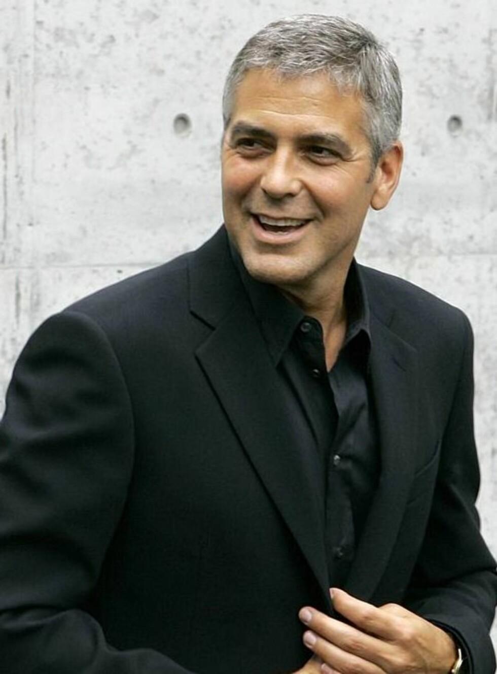 FIIIN GAMMEL ÅRGANG: George Clooney blir bare mer sexy med årene.... Foto: AP/Scanpix