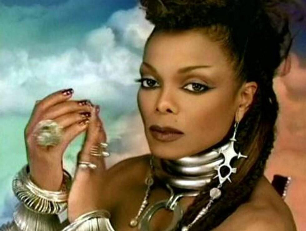 VIDEODRONNING: Janet er tilbake - i ekte Jackson-stil! Foto: Stella Pictures