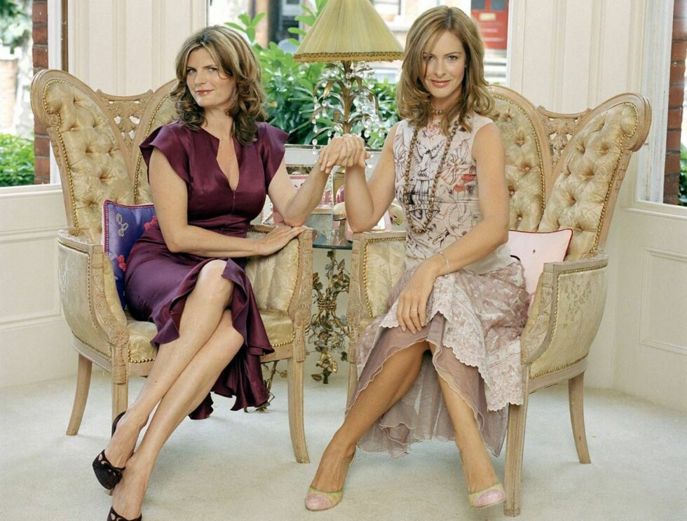 Picture Shows: (L to R) Susannah Constantine and Trinny Woodall. TX Date: Wednesday 29th September 2004 The hugely popular series What not to Wear, moves to BBC One. In this series, the women keen on the What Not To Wear treatment have volunteered for a s Foto: BBC