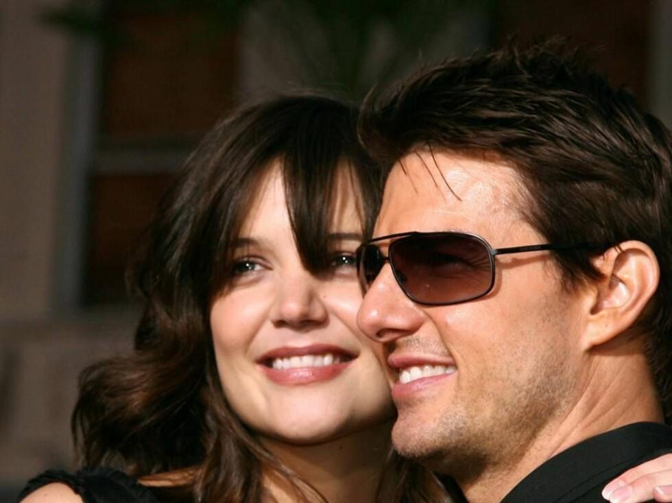 FOR DYRE: Katie Holmes og Tom Cruise ville selge babybilder, men ingen ville betale riktig pris. Foto: All Over Press