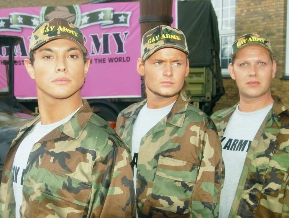 HOMSEHÆR: Gutta i Gay Army... Foto: TVNorge