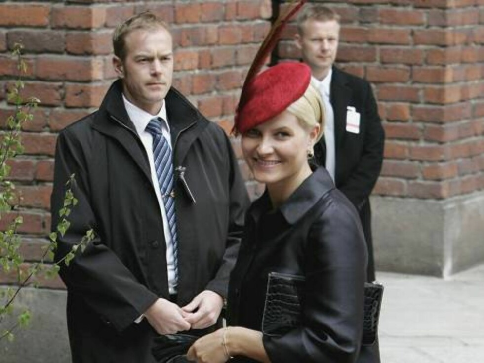 STOCKHOLM, SWEDEN - APRIL 30:  Princess Mette-Marit of Norway arrives at the Parliment's Lunch at City Hall to celebrate H.M. King Carl XVI Gustaf of Swedens 60th birthday on April 30, 2006 in Stockholm, Sweden.  (Photo by Chris Jackson/Getty Images) *** Foto: All Over Press