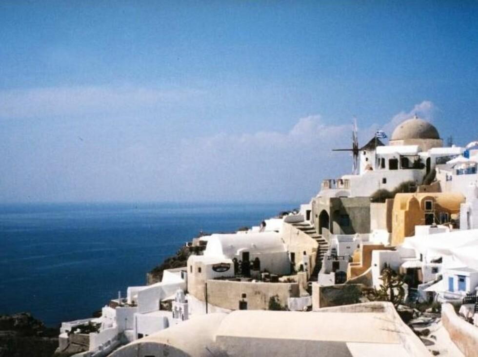 ØYHOPPING: Hopp mellom de greske øyene for en slikk og ingenting.. Foto: Helle Valebrokk