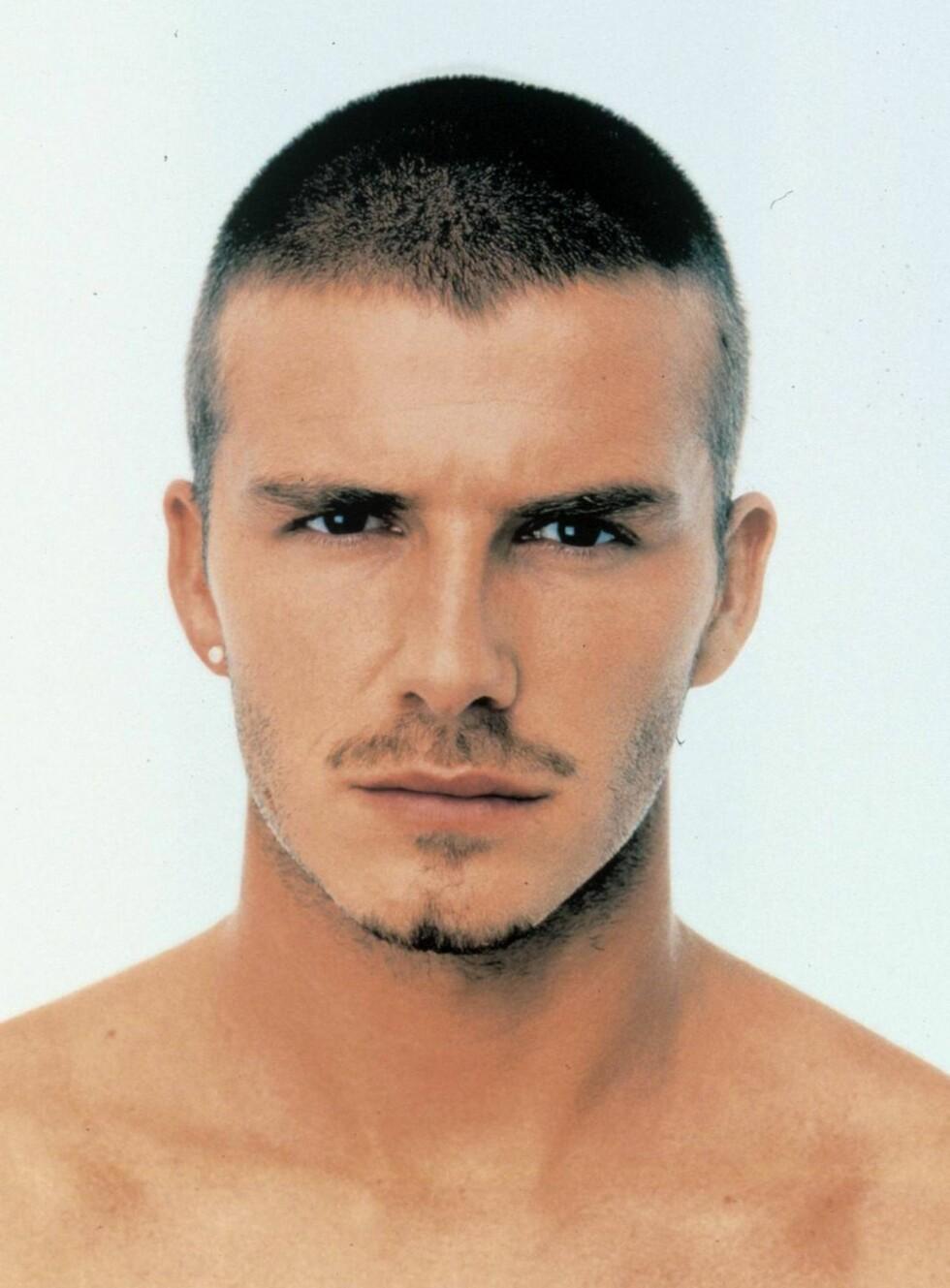 STILIKON: Når David Beckham endrer frisyre - skaper han mote. Foto: TV2