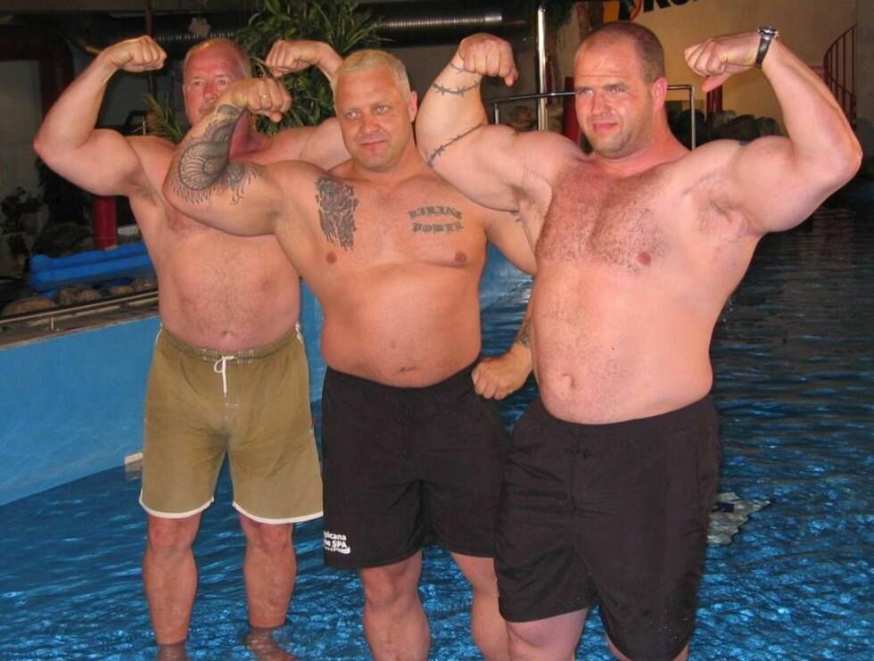 FINALISTER: Tre av Norges sterkeste menn. Foto: TV2