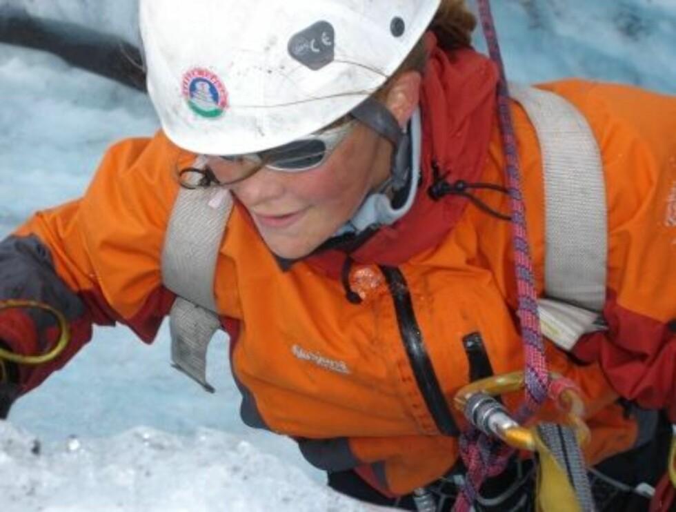 ON THE ROCKS: Trenger du is til drinken kan det være en idé å være med på Turistforeningens BaseCamp. Foto: DNT