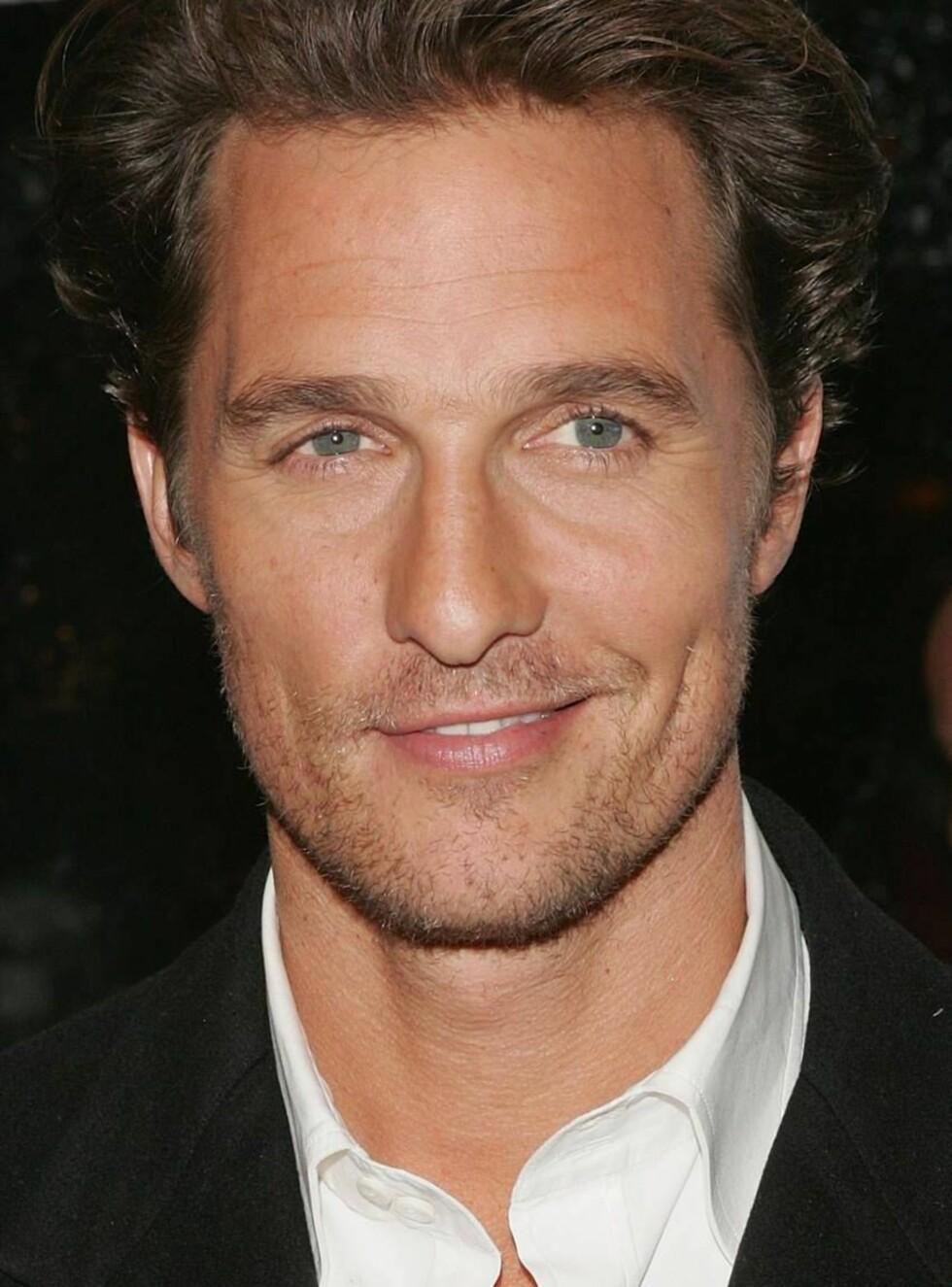 NYSINGEL: Matthew McConaughey ble ledig på markedet etter bruddet med Penélope Cruz. Foto: All Over Press