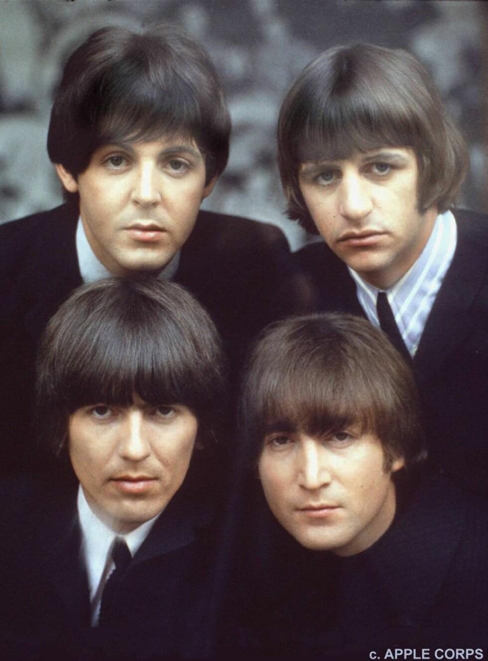 SPILTE OPP: The Beatles var med og gjorde Top of The Pops til en 42 år lang suksess. Foto: AP/SCANPIX