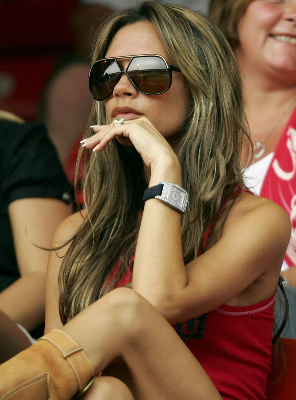 SYLTYNN: Victoria Beckham blir stadig tynnere. Foto: All Over Press