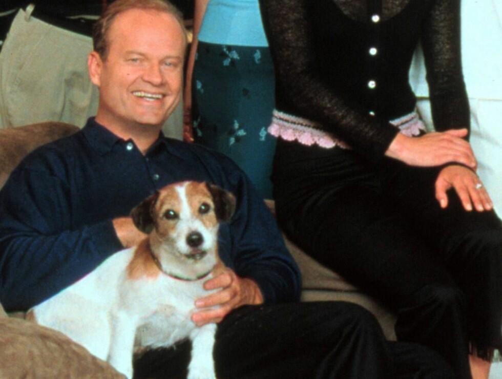 GODE VENNER: Frasier og Eddie fra den lykkelige tiden. Foto: TV2
