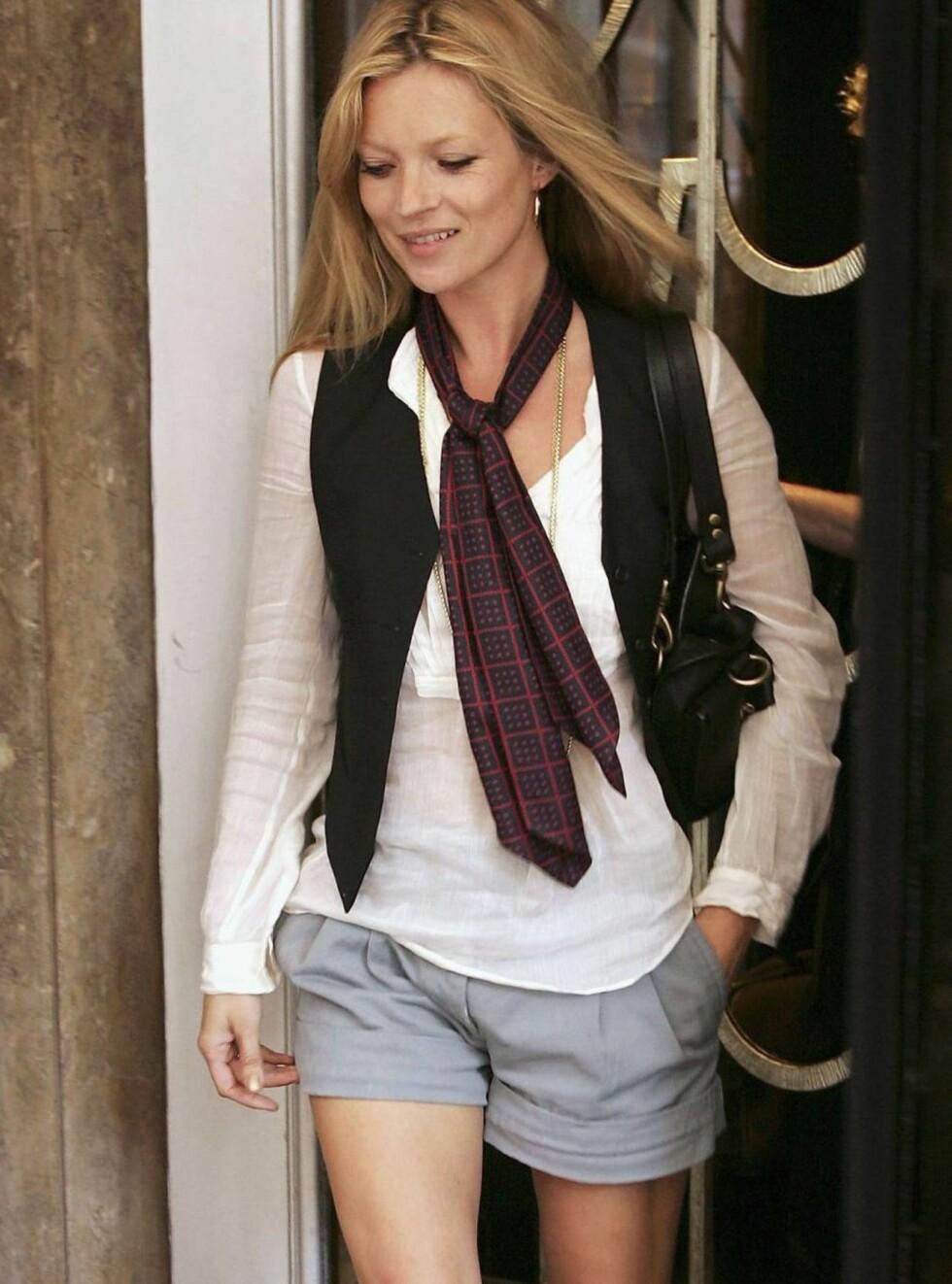 FOR RETTEN: Narkotika-saken mot Kate Moss kom opp for retten i London før helgen. Da saken ble henlagt, dro Kate på fest. Foto: All Over Press