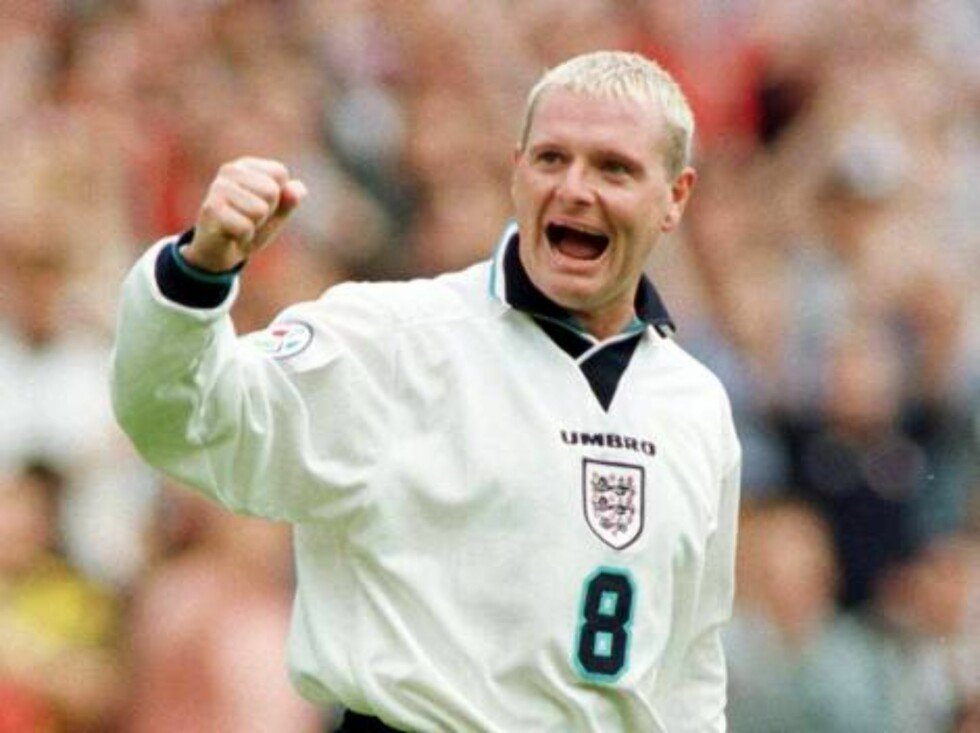 FOTBALLSTJERNE: Paul Gascoigne er en av Englands beste fotballspillere gjennom tidene. Foto: AP/SCANPIX