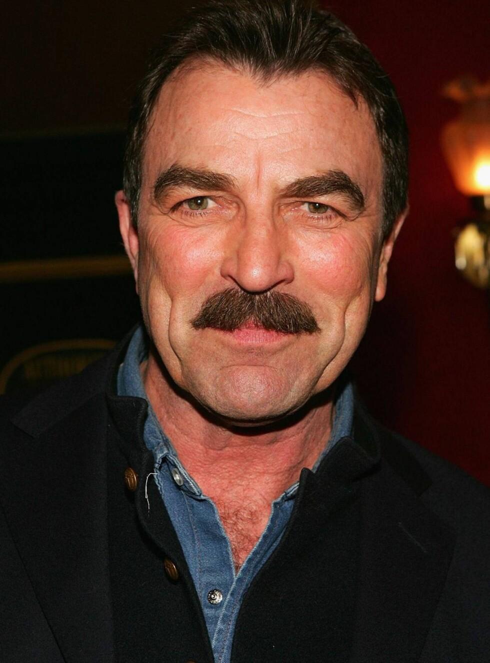 ORIGINALEN: Tom Selleck og hans flotte mustasje er blitt for gamle for Hollywood-produsenten Brian Grazer. Foto: All Over Press