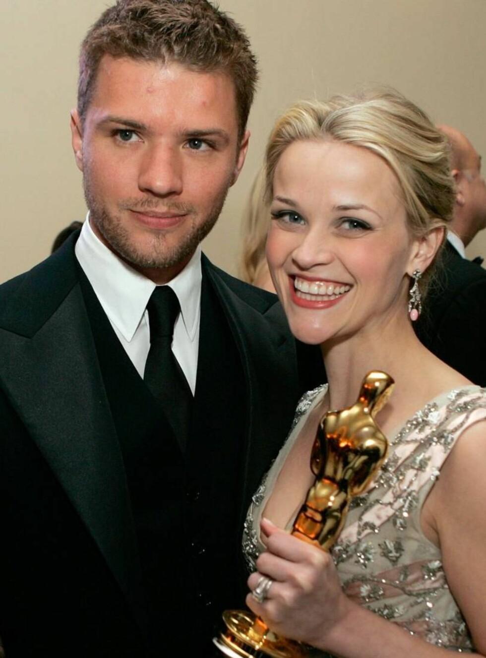 NY GULLGUTT?: Amerikanske medier hevder Reese er minst fire måneder på vei. Foto: All Over Press