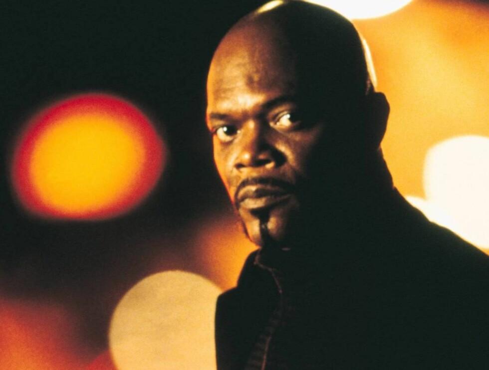 TØFF: Samuel L. Jackson er Shaft. Foto: TV2