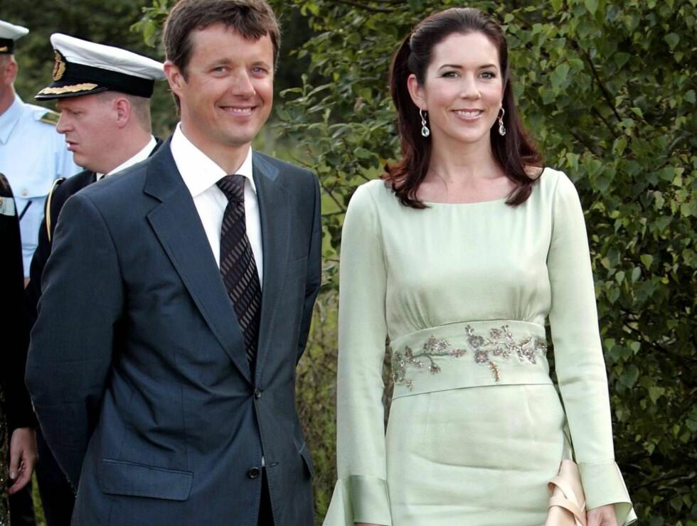 MAMMAKJOLE: Da Mary kom i enne kjolen ble det fart i ryktene i Danmark. Det er ikke mye som skal til... Foto: All Over Press