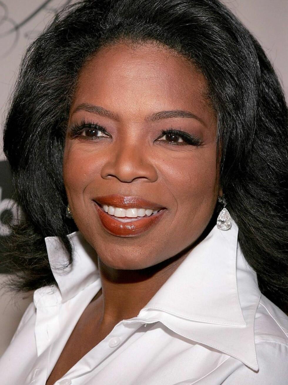 UBUDEN GJEST: Oprah antar visst at hun er velkommen overalt. Foto: All Over Press