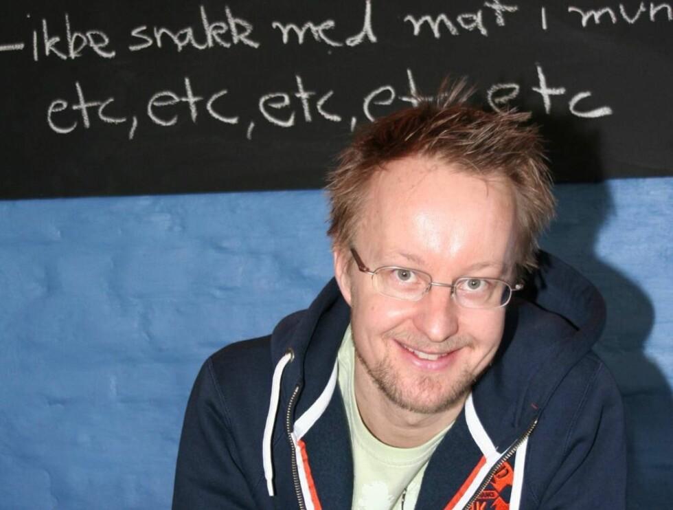 LÆRER: Sigurd Solliens elever er klare for eksamen! Foto: TVNorge