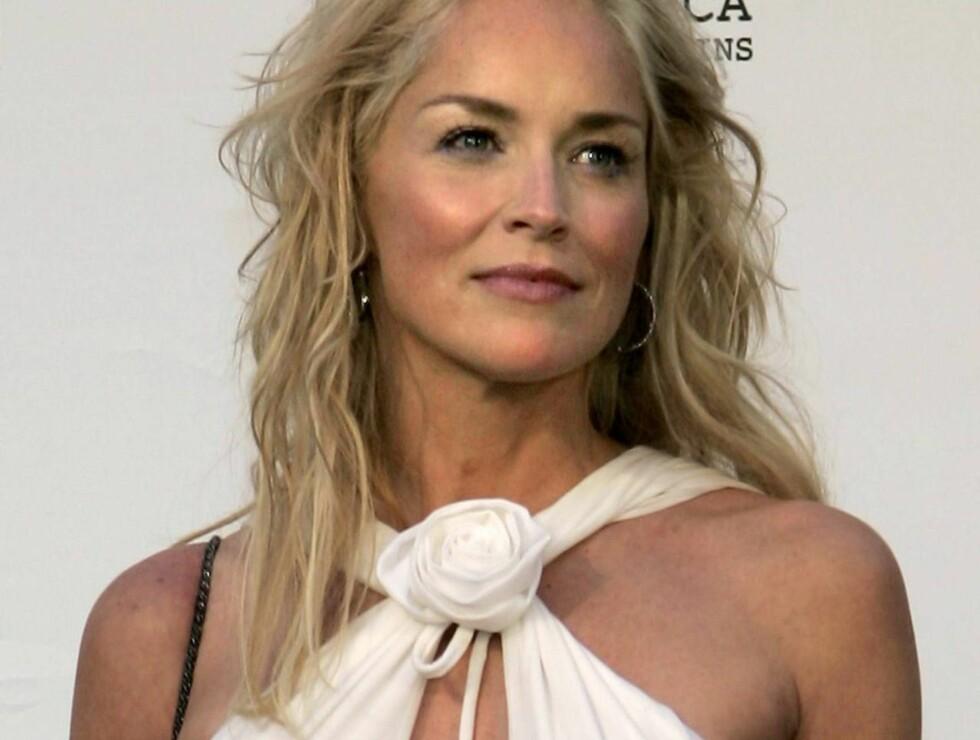 MORSINSTINKTER: Sharon Stone er blitt mamma igjen. Foto: AP/Scanpix