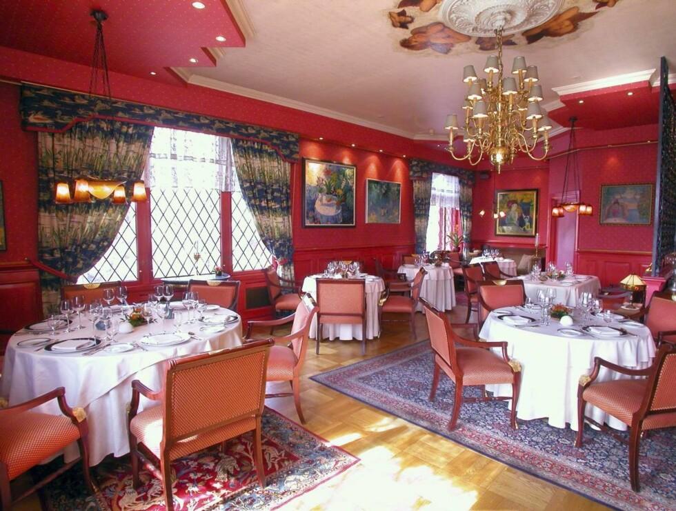 FIN SMAK: Restauran Feinschmecker har én stjerne i Michelin-guiden.