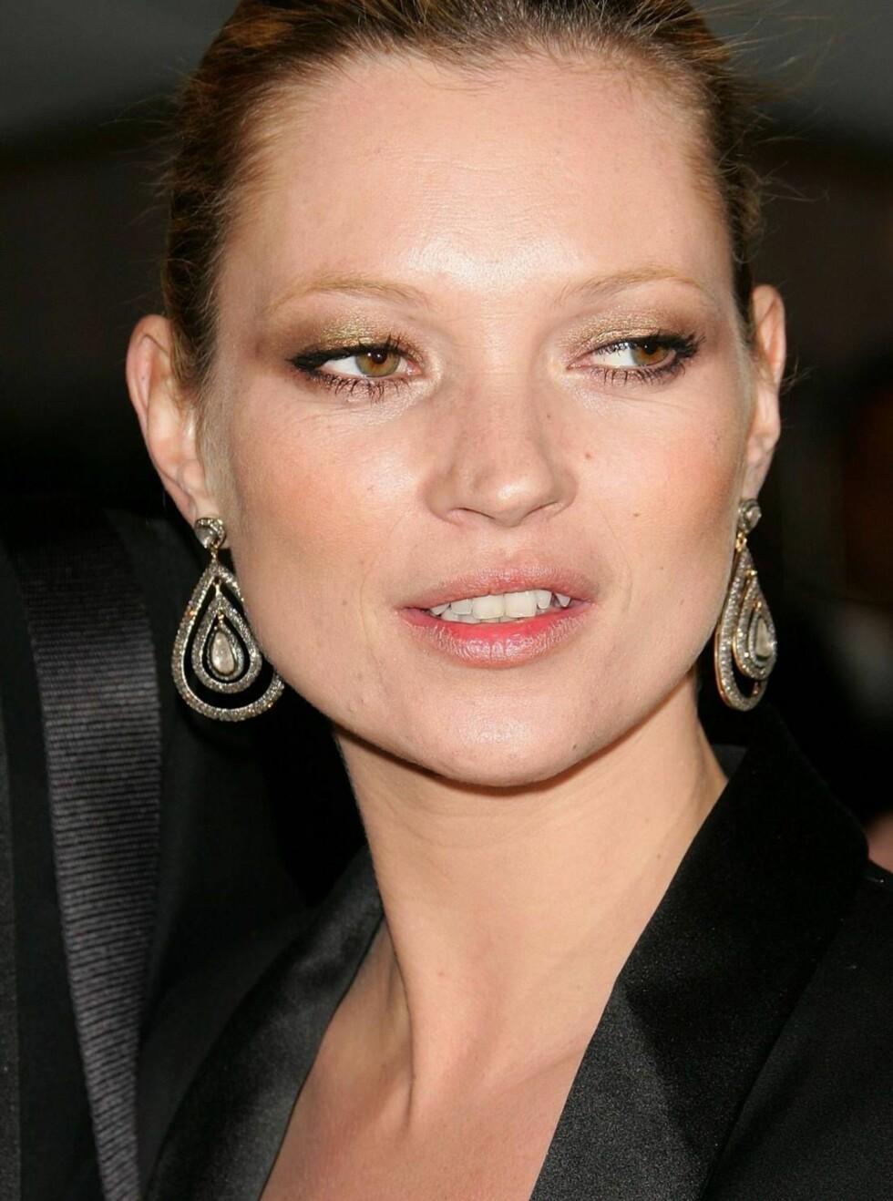 SKREMT: Kate Moss frykter hennes utsvevende livsstil kan ha skapt farlige situasjoner. Foto: All Over Press