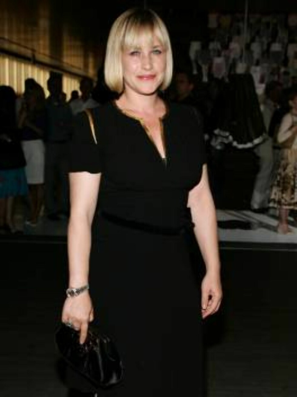 "<strong>BEVERLY HILLS, CA - JULY 13:</strong>  Actress Patricia Arquette arrives at the opening of ""Waist Down - Skirts By Miuccia Prada"" held at Prada on July 13, 2006 in Beverly Hills, California.  (Photo by Frazer Harrison/Getty Images) *** Local Caption *** Patricia A Foto: AP/Scanpix"