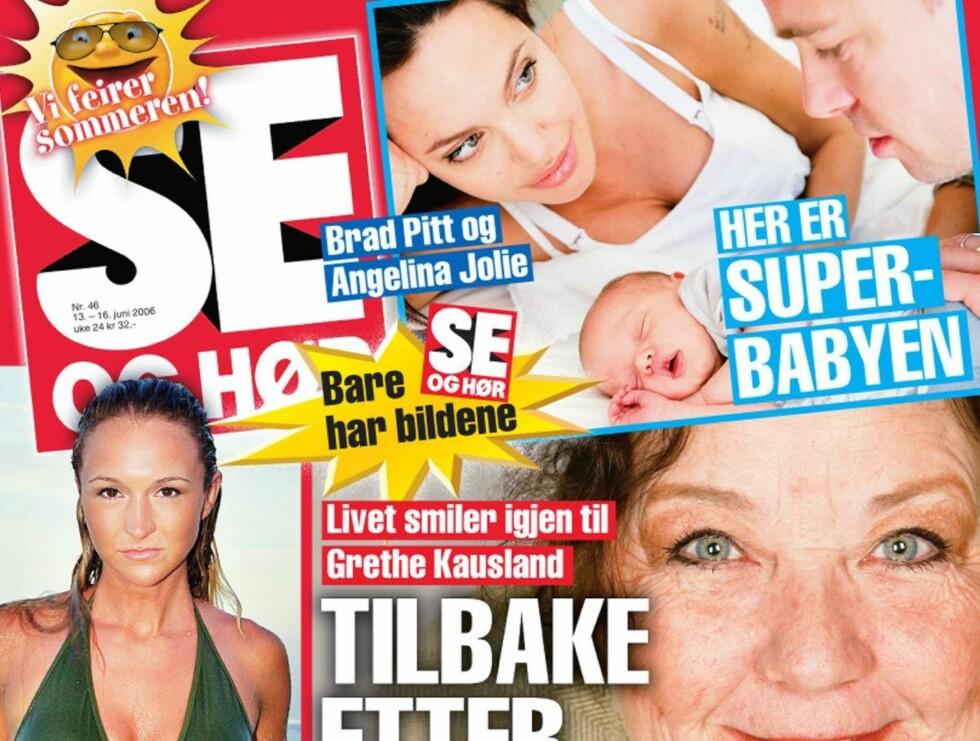 HAR BILDENE: Se og Hør har verdens mest etterspurte baby-bilder. Bladet er i salg nå.