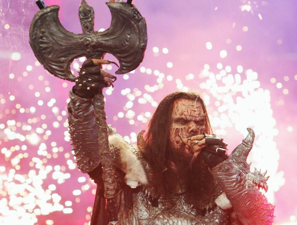 SUPERHELT: Nei, det er ikke Skeletor, men Mr. Lordi som blir hovedperson i en ny tegneserie. Foto: All Over Press